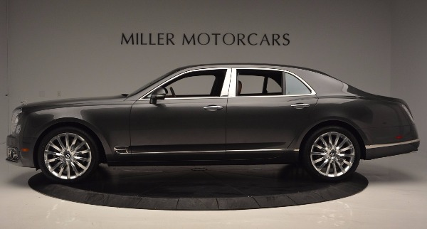 New 2017 Bentley Mulsanne for sale Sold at McLaren Greenwich in Greenwich CT 06830 3