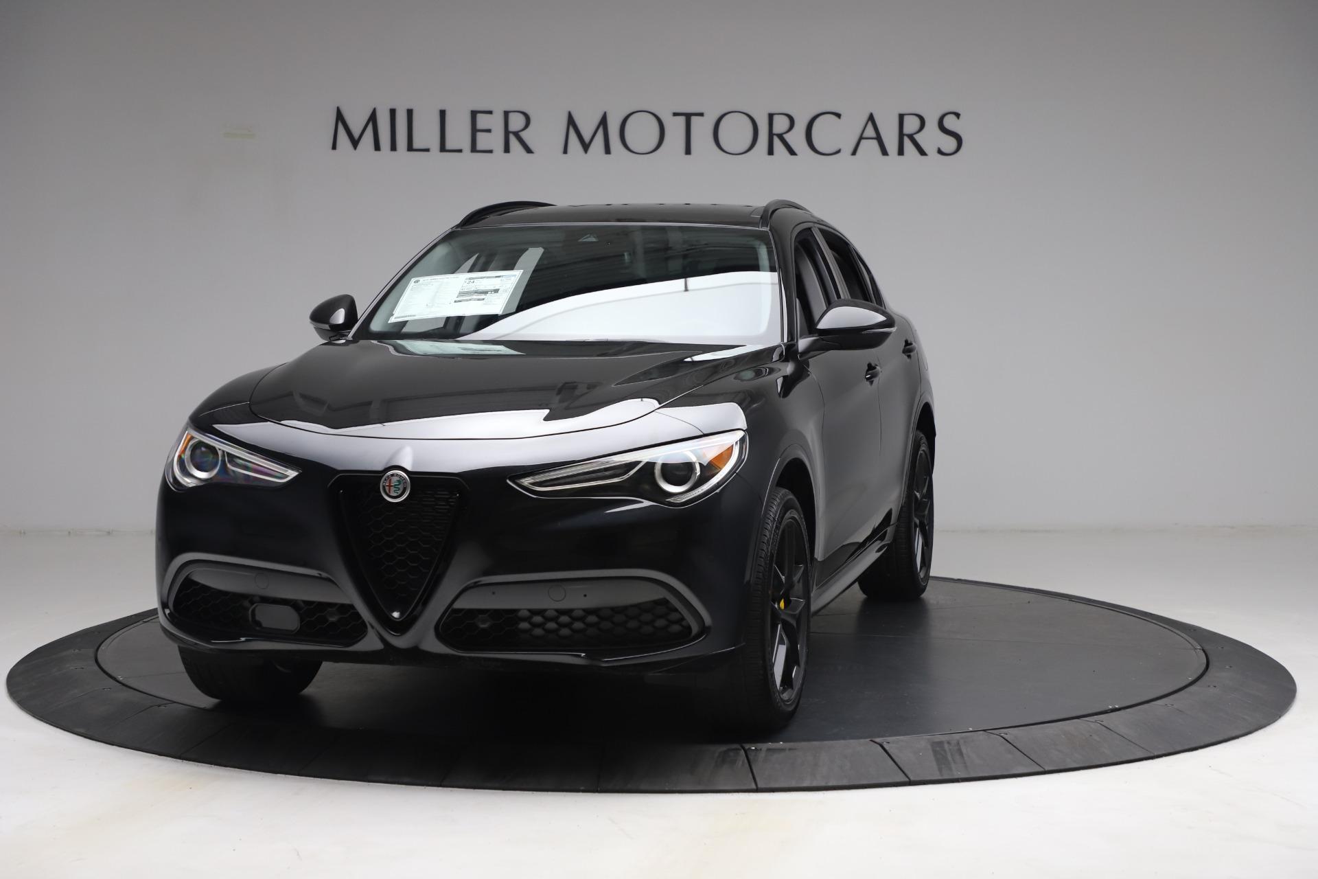 New 2021 Alfa Romeo Stelvio Ti for sale $51,955 at McLaren Greenwich in Greenwich CT 06830 1