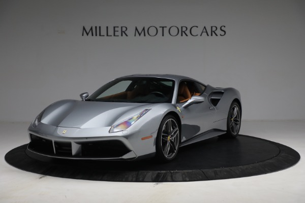 Used 2018 Ferrari 488 GTB for sale Sold at McLaren Greenwich in Greenwich CT 06830 1