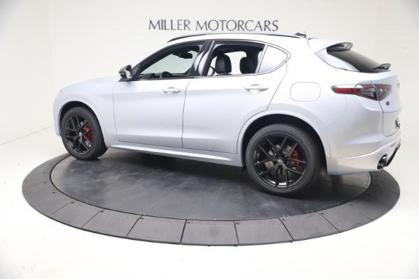 New 2021 Alfa Romeo Stelvio Ti Sport Q4 for sale $57,200 at McLaren Greenwich in Greenwich CT 06830 4