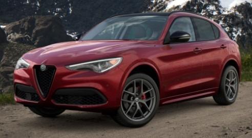 New 2021 Alfa Romeo Stelvio Ti Q4 for sale $52,045 at McLaren Greenwich in Greenwich CT 06830 1