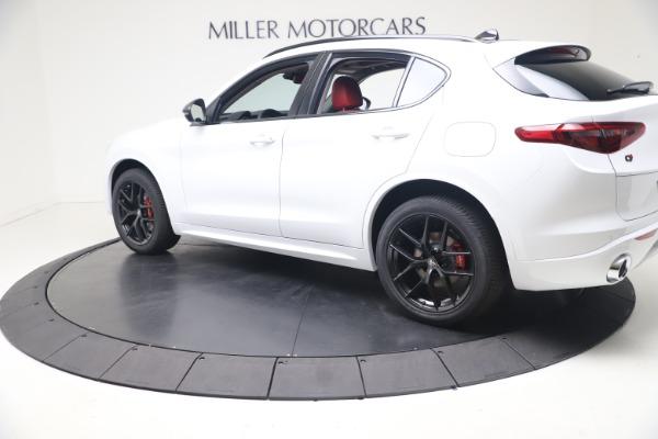 New 2021 Alfa Romeo Stelvio Ti Q4 for sale $53,740 at McLaren Greenwich in Greenwich CT 06830 4