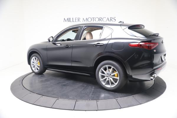 New 2021 Alfa Romeo Stelvio Ti Q4 for sale $54,755 at McLaren Greenwich in Greenwich CT 06830 4