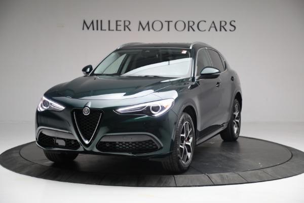 New 2021 Alfa Romeo Stelvio Ti Q4 for sale $51,950 at McLaren Greenwich in Greenwich CT 06830 1
