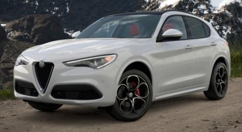 New 2021 Alfa Romeo Stelvio Ti Sport Q4 for sale $54,740 at McLaren Greenwich in Greenwich CT 06830 1