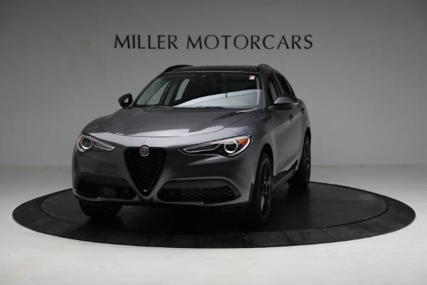 New 2021 Alfa Romeo Stelvio Ti Q4 for sale $52,705 at McLaren Greenwich in Greenwich CT 06830 1