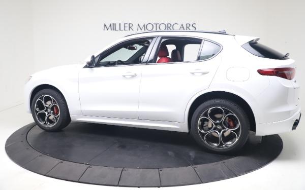 New 2021 Alfa Romeo Stelvio Ti Sport Q4 for sale Call for price at McLaren Greenwich in Greenwich CT 06830 4