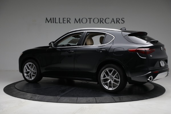 New 2021 Alfa Romeo Stelvio Ti Q4 for sale $57,400 at McLaren Greenwich in Greenwich CT 06830 4
