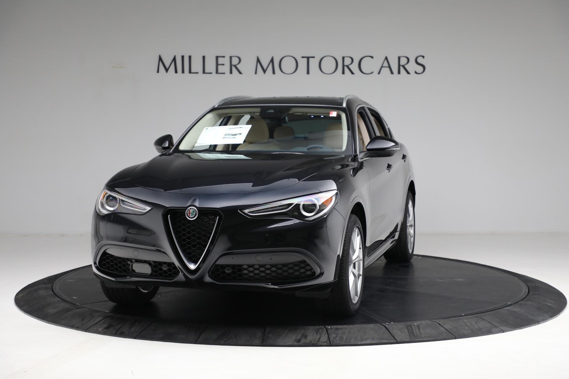 New 2021 Alfa Romeo Stelvio Ti Q4 for sale $57,400 at McLaren Greenwich in Greenwich CT 06830 1