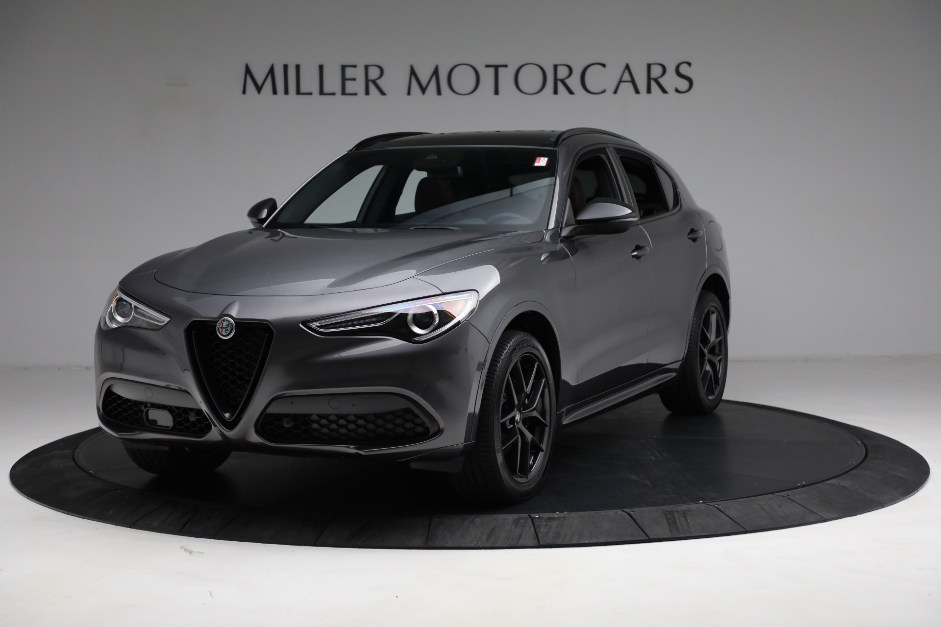 New 2021 Alfa Romeo Stelvio Ti Sport Q4 for sale $55,205 at McLaren Greenwich in Greenwich CT 06830 1