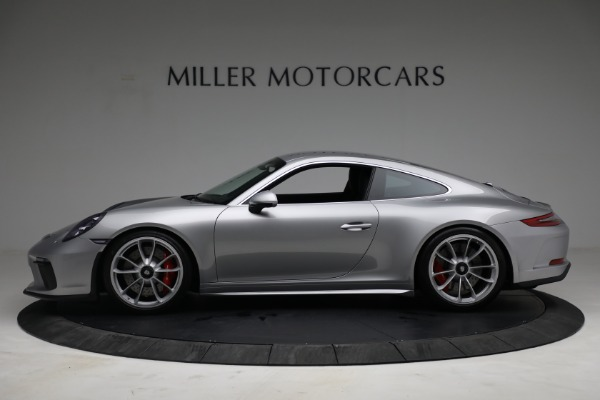 Used 2018 Porsche 911 GT3 Touring for sale Sold at McLaren Greenwich in Greenwich CT 06830 3