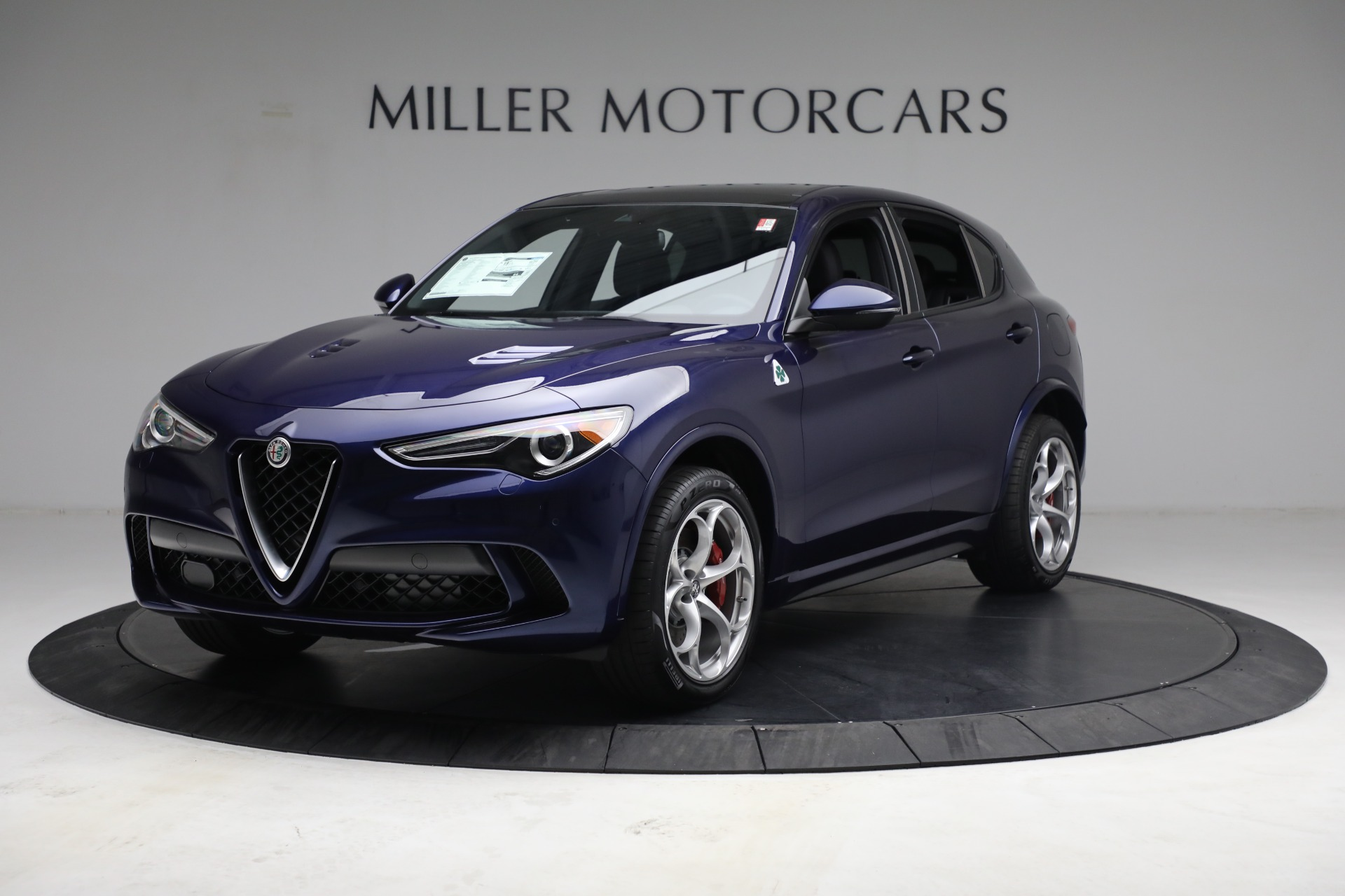 New 2021 Alfa Romeo Stelvio Quadrifoglio for sale $88,550 at McLaren Greenwich in Greenwich CT 06830 1