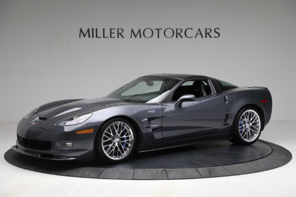 Used 2010 Chevrolet Corvette ZR1 for sale Call for price at McLaren Greenwich in Greenwich CT 06830 2