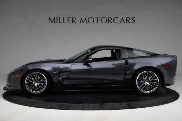 Used 2010 Chevrolet Corvette ZR1 for sale Call for price at McLaren Greenwich in Greenwich CT 06830 3