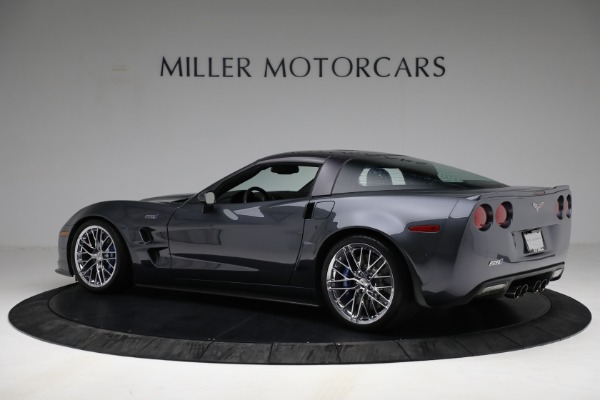 Used 2010 Chevrolet Corvette ZR1 for sale Call for price at McLaren Greenwich in Greenwich CT 06830 4