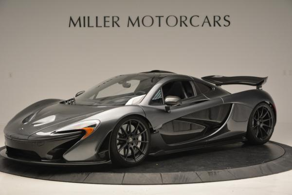 Used 2014 McLaren P1 Coupe for sale Call for price at McLaren Greenwich in Greenwich CT 06830 2