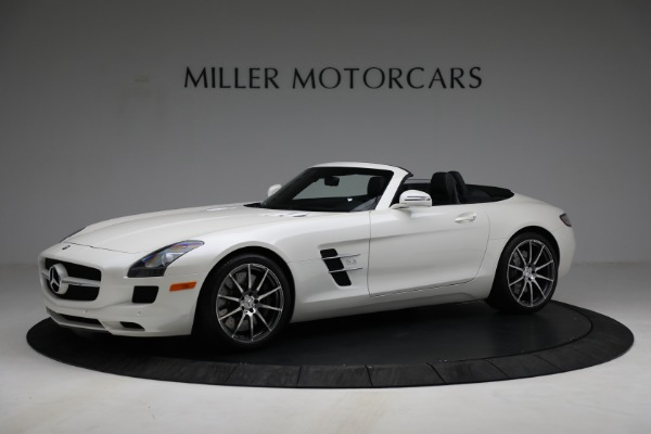Used 2012 Mercedes-Benz SLS AMG for sale $159,900 at McLaren Greenwich in Greenwich CT 06830 2