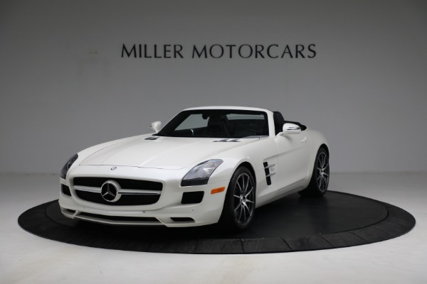 Used 2012 Mercedes-Benz SLS AMG for sale $159,900 at McLaren Greenwich in Greenwich CT 06830 1