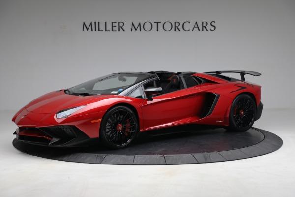 Used 2017 Lamborghini Aventador LP 750-4 SV for sale $589,900 at McLaren Greenwich in Greenwich CT 06830 2