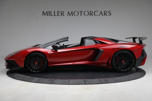 Used 2017 Lamborghini Aventador LP 750-4 SV for sale $589,900 at McLaren Greenwich in Greenwich CT 06830 3