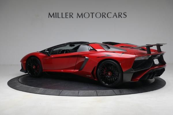 Used 2017 Lamborghini Aventador LP 750-4 SV for sale $589,900 at McLaren Greenwich in Greenwich CT 06830 4