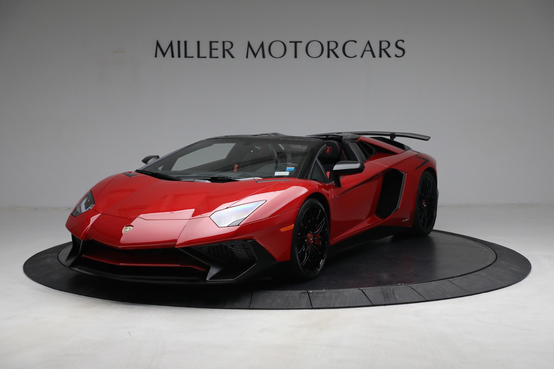 Used 2017 Lamborghini Aventador LP 750-4 SV for sale $589,900 at McLaren Greenwich in Greenwich CT 06830 1