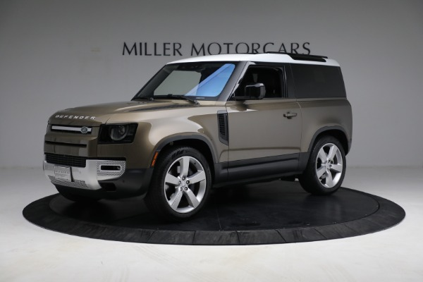 Used 2021 Land Rover Defender 90 First Edition for sale $69,900 at McLaren Greenwich in Greenwich CT 06830 2