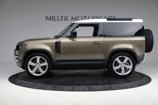Used 2021 Land Rover Defender 90 First Edition for sale $69,900 at McLaren Greenwich in Greenwich CT 06830 3
