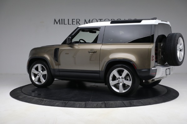 Used 2021 Land Rover Defender 90 First Edition for sale $69,900 at McLaren Greenwich in Greenwich CT 06830 4