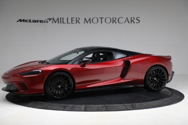 New 2021 McLaren GT for sale $217,275 at McLaren Greenwich in Greenwich CT 06830 2