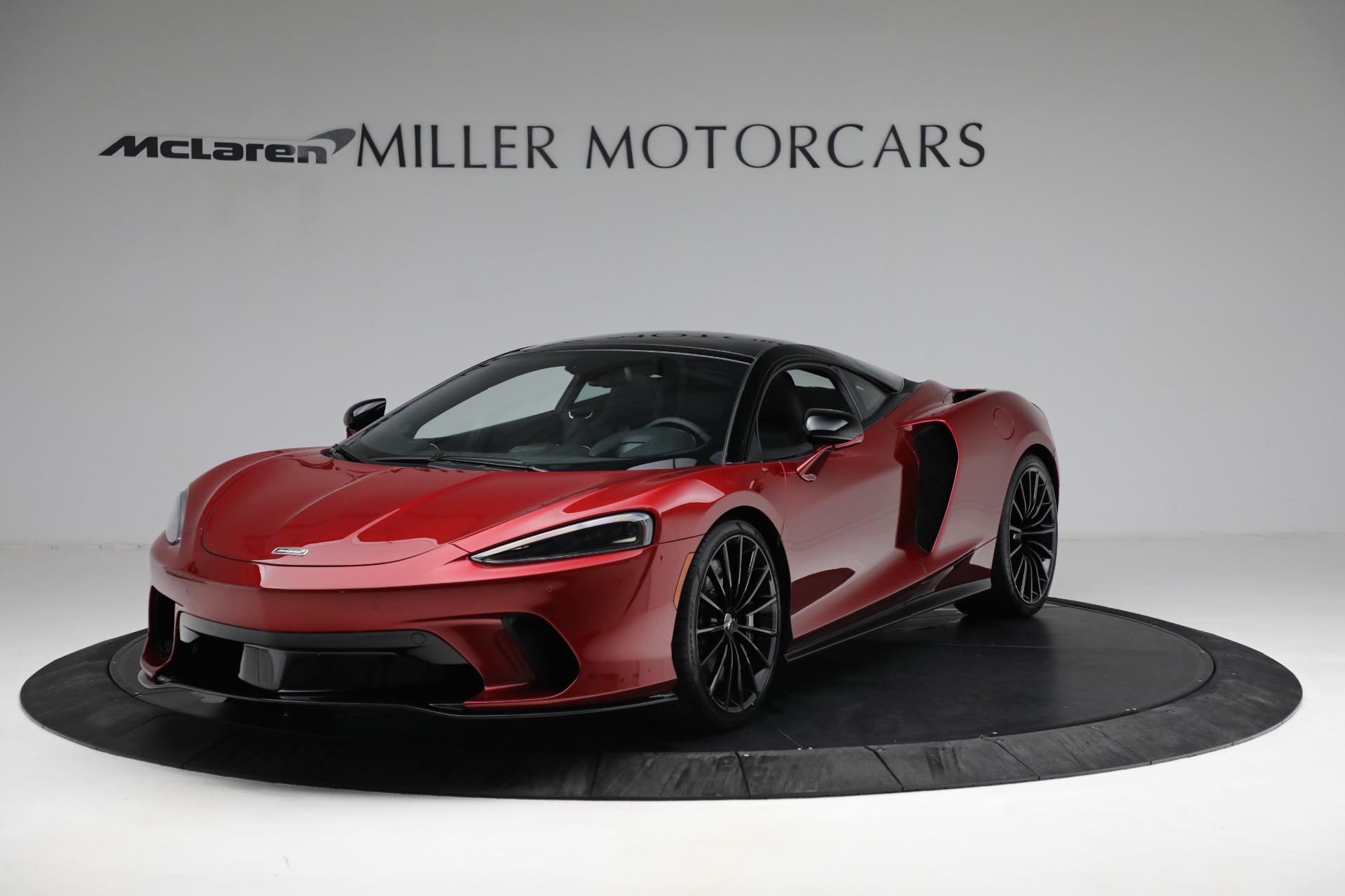 New 2021 McLaren GT Luxe for sale $217,275 at McLaren Greenwich in Greenwich CT 06830 1