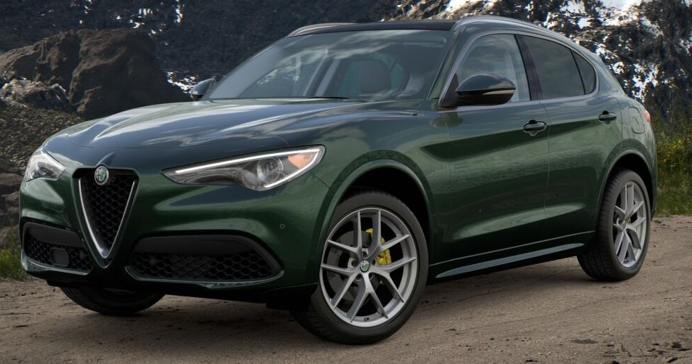 New 2021 Alfa Romeo Stelvio Ti for sale $57,750 at McLaren Greenwich in Greenwich CT 06830 1