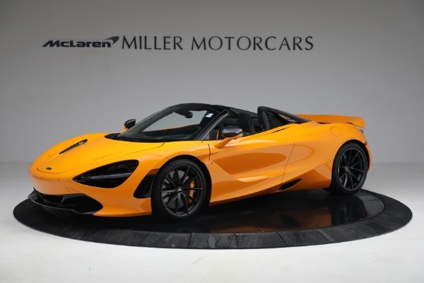 New 2021 McLaren 720S Spider for sale $378,110 at McLaren Greenwich in Greenwich CT 06830 2
