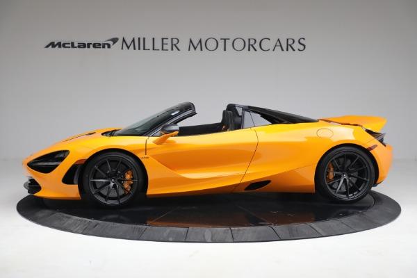 New 2021 McLaren 720S Spider for sale $378,110 at McLaren Greenwich in Greenwich CT 06830 3