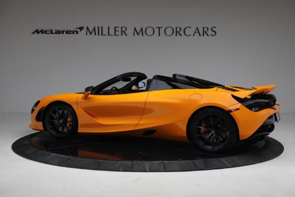 New 2021 McLaren 720S Spider for sale $378,110 at McLaren Greenwich in Greenwich CT 06830 4