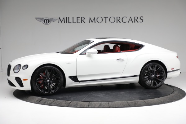 New 2022 Bentley Continental GT Speed for sale Call for price at McLaren Greenwich in Greenwich CT 06830 3