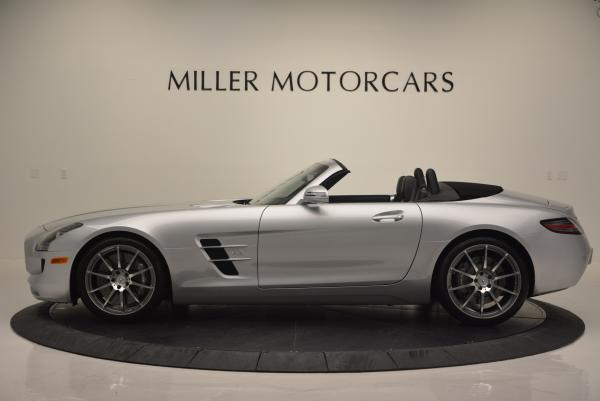 Used 2012 Mercedes Benz SLS AMG for sale Sold at McLaren Greenwich in Greenwich CT 06830 3