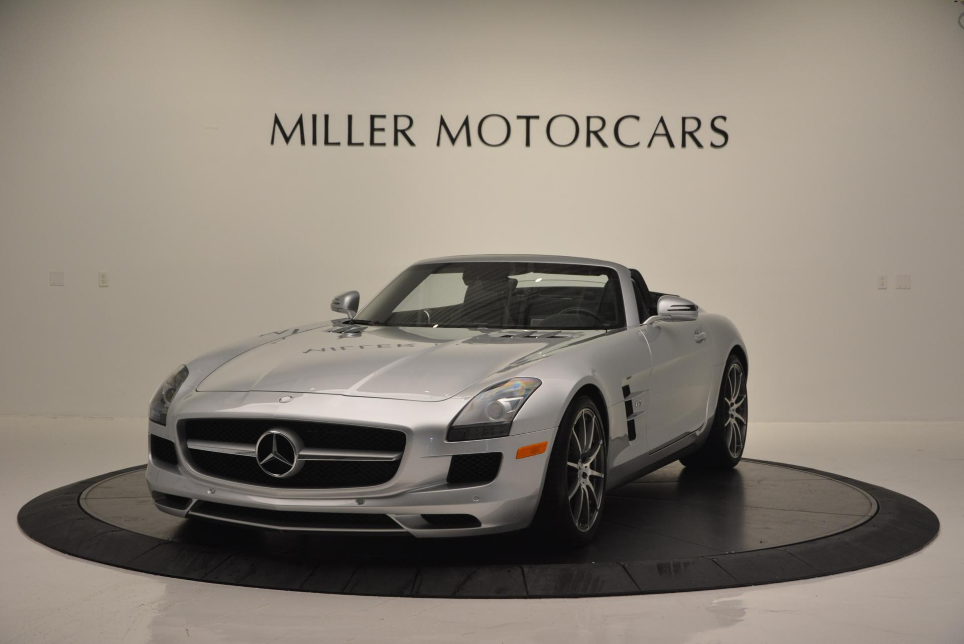 Used 2012 Mercedes Benz SLS AMG for sale Sold at McLaren Greenwich in Greenwich CT 06830 1