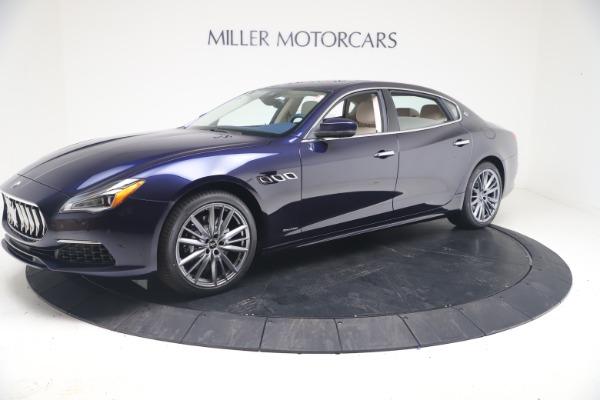 New 2021 Maserati Quattroporte S Q4 GranLusso for sale $126,149 at McLaren Greenwich in Greenwich CT 06830 2