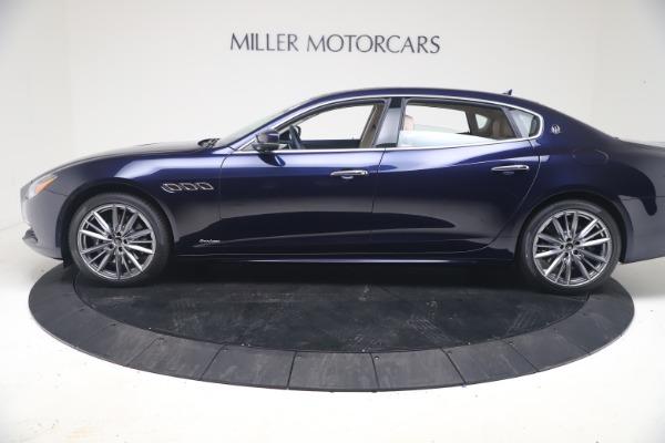 New 2021 Maserati Quattroporte S Q4 GranLusso for sale $126,149 at McLaren Greenwich in Greenwich CT 06830 3