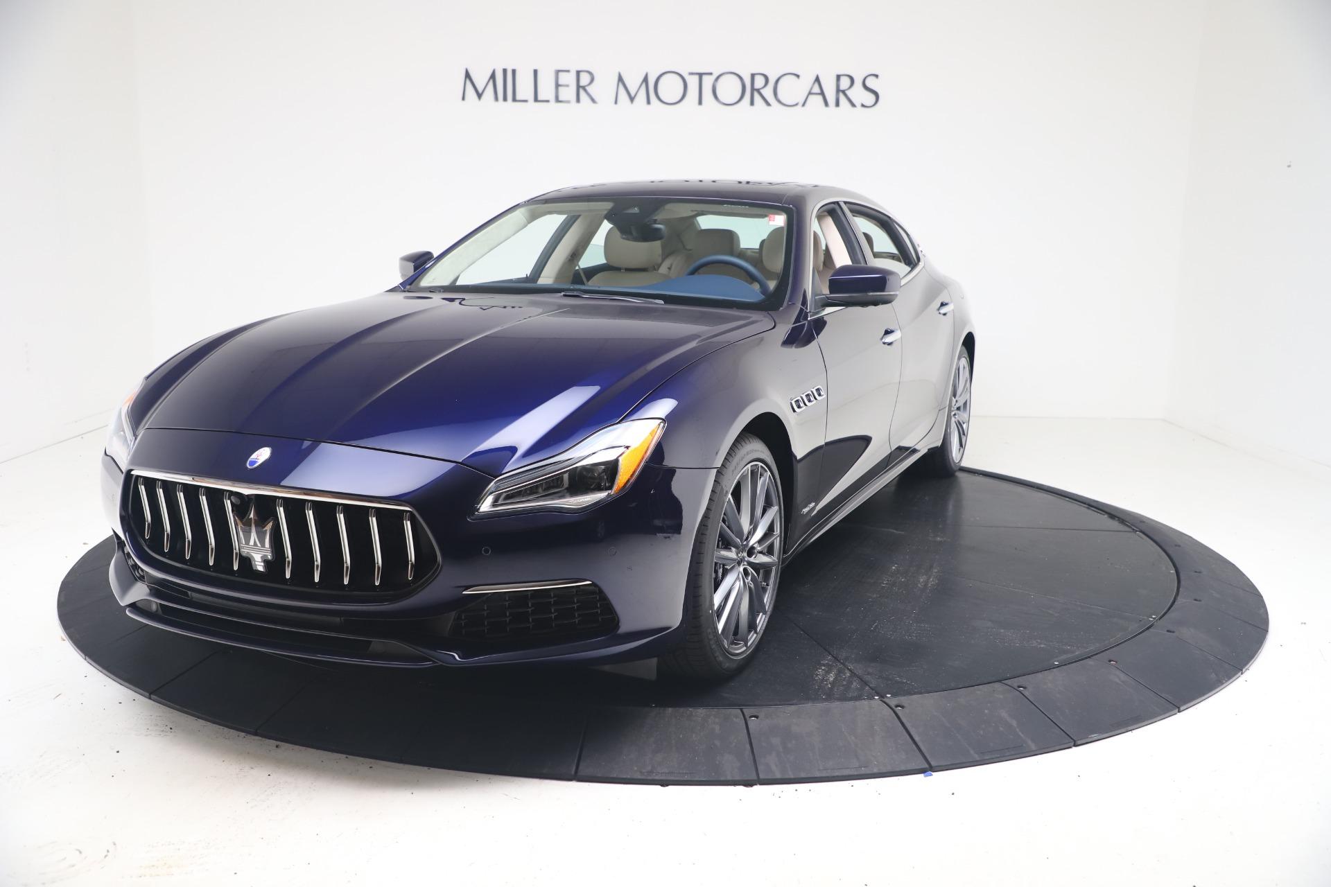 New 2021 Maserati Quattroporte S Q4 GranLusso for sale $126,149 at McLaren Greenwich in Greenwich CT 06830 1