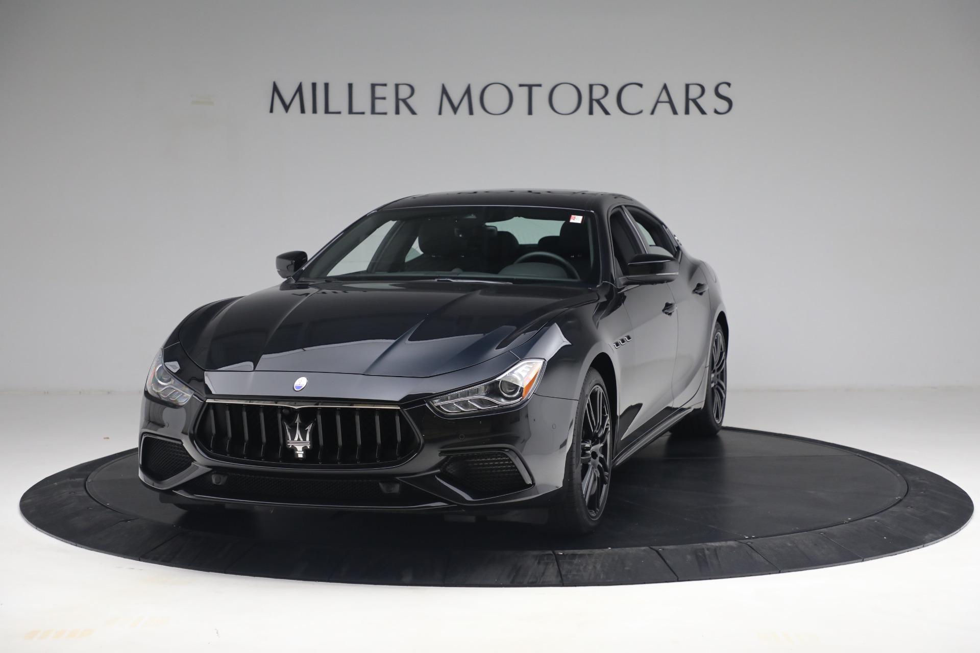 New 2021 Maserati Ghibli SQ4 for sale $92,894 at McLaren Greenwich in Greenwich CT 06830 1