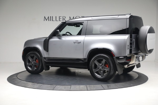 Used 2021 Land Rover Defender 90 X for sale $84,900 at McLaren Greenwich in Greenwich CT 06830 4
