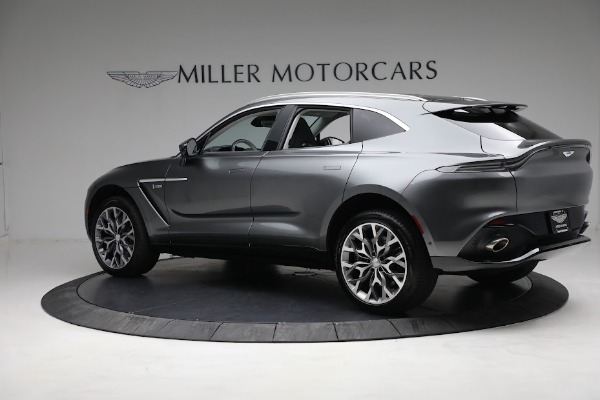 Used 2021 Aston Martin DBX for sale Sold at McLaren Greenwich in Greenwich CT 06830 3