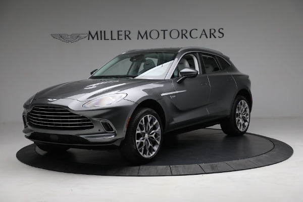 Used 2021 Aston Martin DBX for sale Sold at McLaren Greenwich in Greenwich CT 06830 1