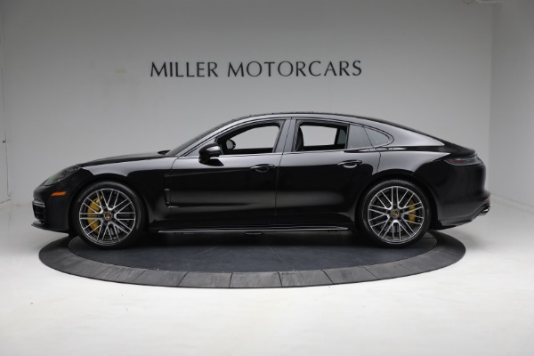 Used 2021 Porsche Panamera Turbo S for sale Call for price at McLaren Greenwich in Greenwich CT 06830 2