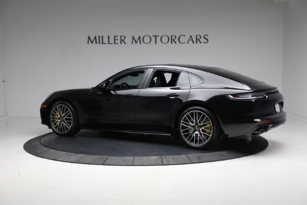 Used 2021 Porsche Panamera Turbo S for sale Call for price at McLaren Greenwich in Greenwich CT 06830 3