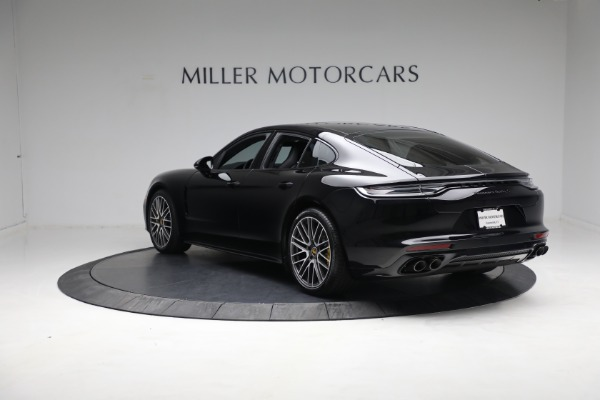 Used 2021 Porsche Panamera Turbo S for sale Call for price at McLaren Greenwich in Greenwich CT 06830 4