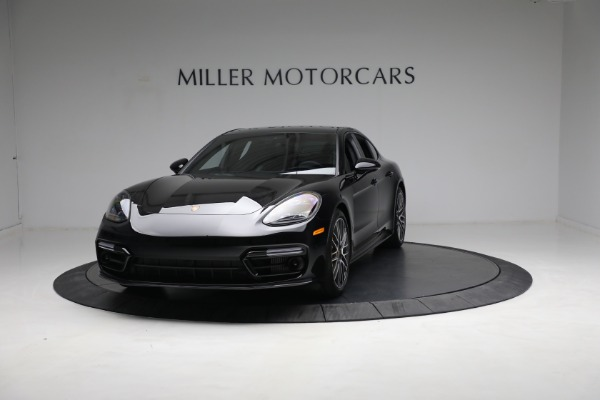 Used 2021 Porsche Panamera Turbo S for sale Call for price at McLaren Greenwich in Greenwich CT 06830 1