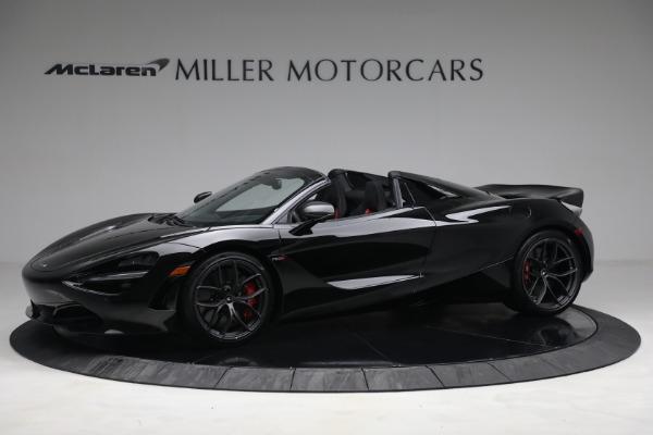 New 2021 McLaren 720S Spider for sale $374,120 at McLaren Greenwich in Greenwich CT 06830 2